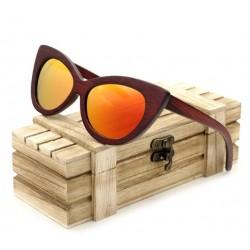 Dámské dřevěné brýle BOBO BIRD W-BG020Orange