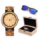 Sada Náramkové hodinky + sluneční brýle