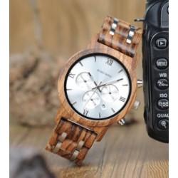 Náramkové hodinky Bobo Bird WP19 silver