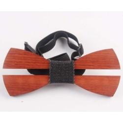 Dřevěný motýlek JY1397-4